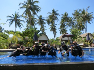 IDC Gilis with IDC dive resort Oceans 5 Gili Air Indonesia