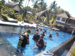 IDC dive resort Gili Islands Oceans 5 dive Gili Air Indonesia