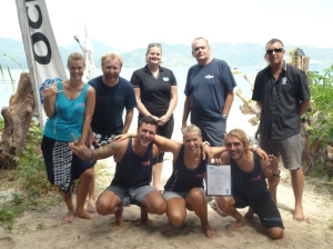 PADI Instructor Examination Gili Islands with iDC dive resort Oceans 5 Gili Air Indonesia