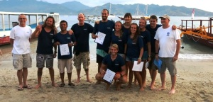 Indonesia IDc at dive Resort Oceans 5 Gili Islands