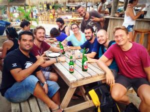 PADI IDC Gili Islands May 2015 with Course Director Assar