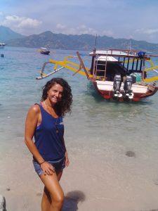 Mieke Bruvnseels, Divemaster candidate at Oceans 5 dive resort