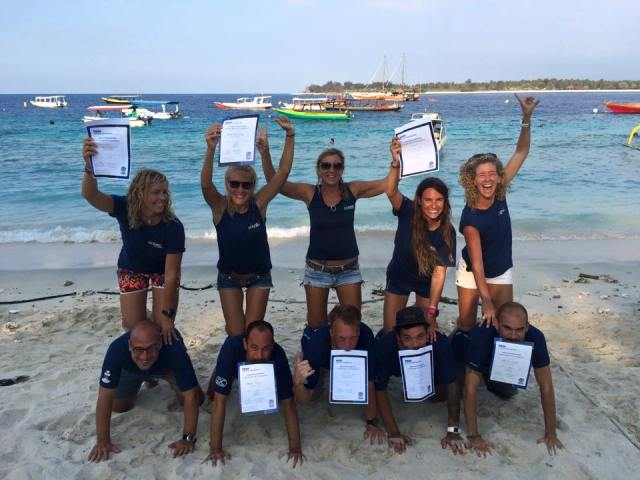 Scuba Instructor Course at Oceans 5 Gili Air in Indonesia